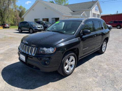2015 Jeep Compass for sale at Evia Auto Sales Inc. in Glens Falls NY