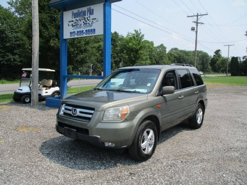 2007 Honda Pilot for sale at PENDLETON PIKE AUTO SALES in Ingalls IN