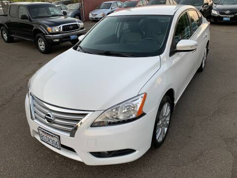 2013 Nissan Sentra for sale at C. H. Auto Sales in Citrus Heights CA