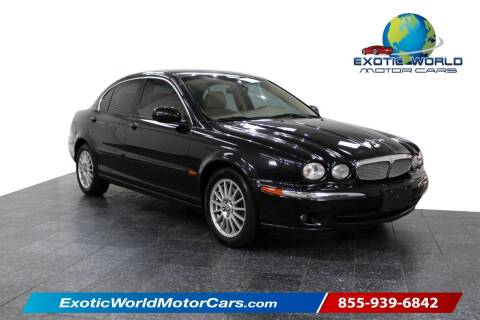 2007 Jaguar X-Type for sale at Exotic World Motor Cars in Addison TX