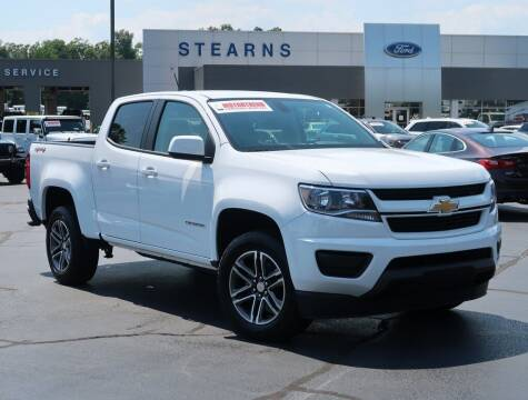 2020 Chevrolet Colorado for sale at Stearns Ford in Burlington NC