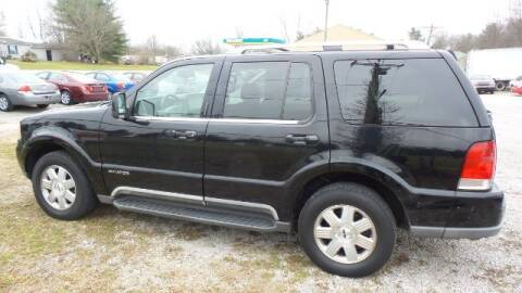 2004 Lincoln Aviator for sale at Tates Creek Motors KY in Nicholasville KY