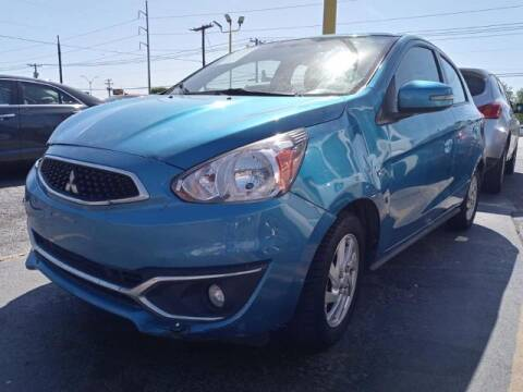 2018 Mitsubishi Mirage for sale at Auto Plaza in Irving TX