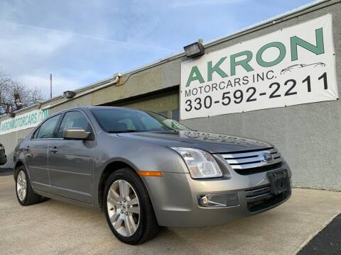 2009 Ford Fusion for sale at Akron Motorcars Inc. in Akron OH