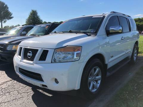 2008 Nissan Armada for sale at COUNTRYSIDE AUTO SALES 2 in Russellville KY