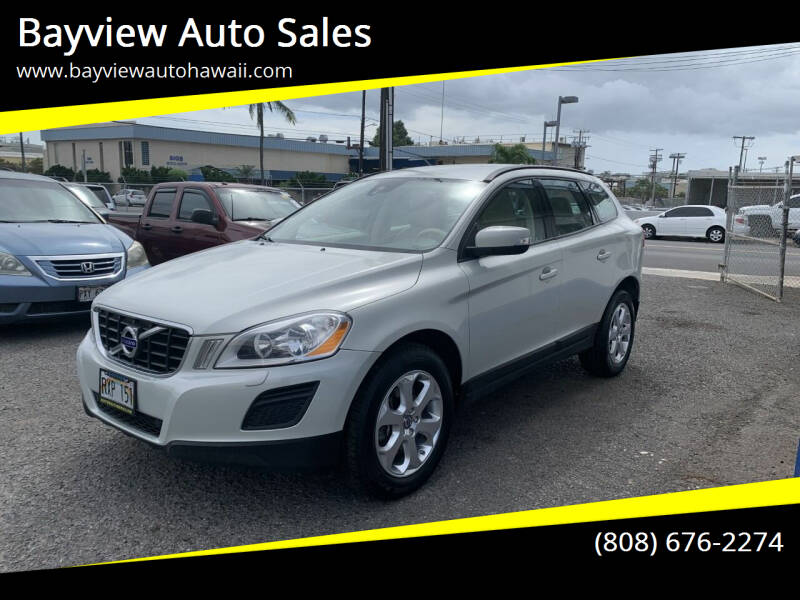 2013 Volvo XC60 for sale at Bayview Auto Sales in Waipahu HI