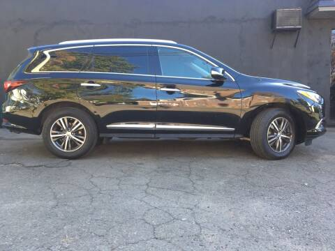 2017 Infiniti QX60 for sale at MELILLO MOTORS INC in North Haven CT