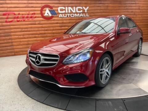 2016 Mercedes-Benz E-Class for sale at Dixie Motors in Fairfield OH