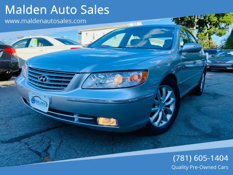 2008 Hyundai Azera for sale at Malden Auto Sales in Malden MA