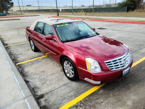 2008 Cadillac DTS for sale at MG Autohaus in New Caney TX