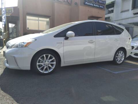 2013 Toyota Prius v for sale at Western Motors Inc in Los Angeles CA