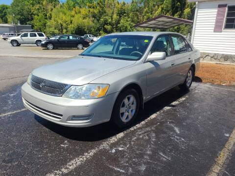 2002 Toyota Avalon for sale at TR MOTORS in Gastonia NC