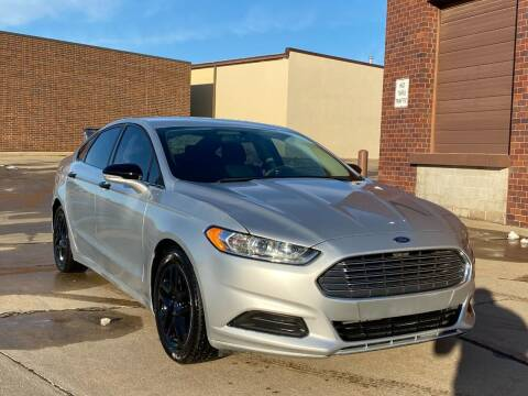 2013 Ford Fusion for sale at Effect Auto Center in Omaha NE