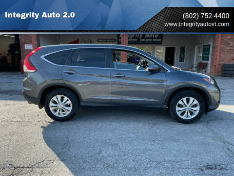 2013 Honda CR-V for sale at Integrity Auto 2.0 in Saint Albans VT