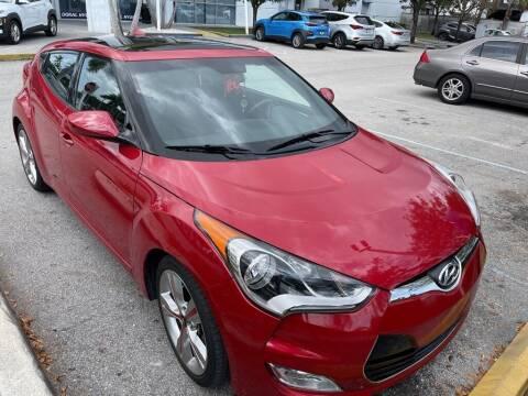 2017 Hyundai Veloster for sale at DORAL HYUNDAI in Doral FL