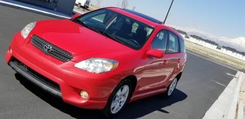 2007 Toyota Matrix for sale at FRESH TREAD AUTO LLC in Springville UT