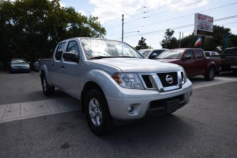 2013 Nissan Frontier for sale at Grant Car Concepts in Orlando FL