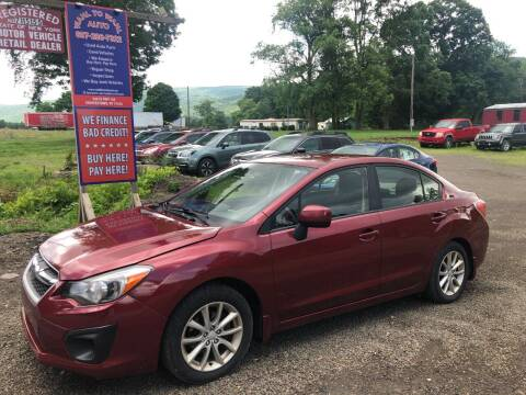 2014 Subaru Impreza for sale at Wahl to Wahl Auto in Cooperstown NY