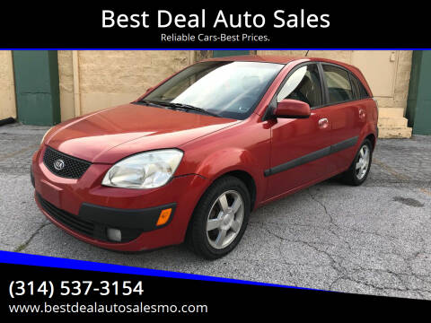 2006 Kia Rio5 for sale at Best Deal Auto Sales in Saint Charles MO