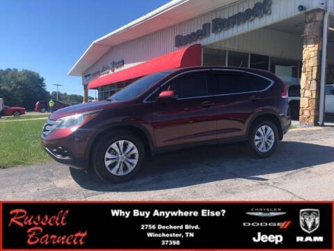 2013 Honda CR-V for sale at Russell Barnett Chrysler Dodge Jeep Ram in Winchester TN