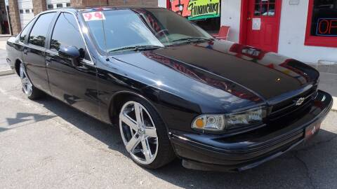 1994 Chevrolet Impala for sale at VISTA AUTO SALES in Longmont CO