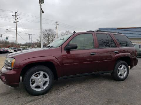 2006 Chevrolet TrailBlazer for sale at COLONIAL AUTO SALES in North Lima OH