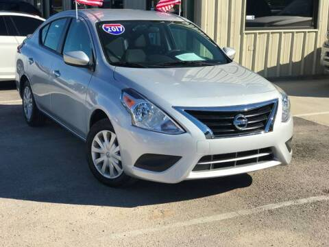 2017 Nissan Versa for sale at Premium Auto Group in Humble TX
