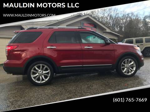 2014 Ford Explorer for sale at MAULDIN MOTORS LLC in Sumrall MS