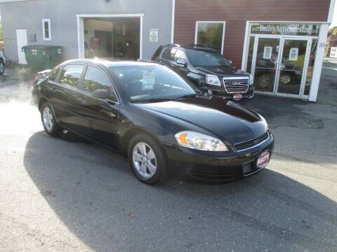 2008 Chevrolet Impala for sale at Percy Bailey Auto Sales Inc in Gardiner ME