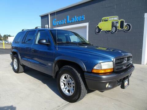 2002 Dodge Durango for sale at Great Lakes Classic Cars in Hilton NY