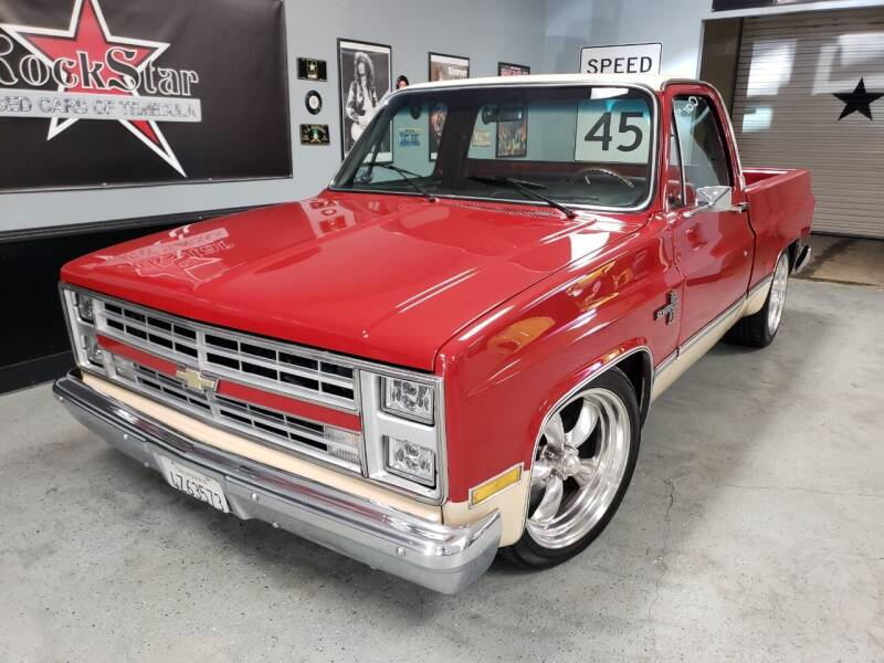 1984 Chevrolet C/K 10 Series for sale at ROCKSTAR USED CARS OF TEMECULA in Temecula CA