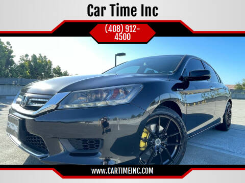 2014 Honda Accord Hybrid for sale at Car Time Inc in San Jose CA