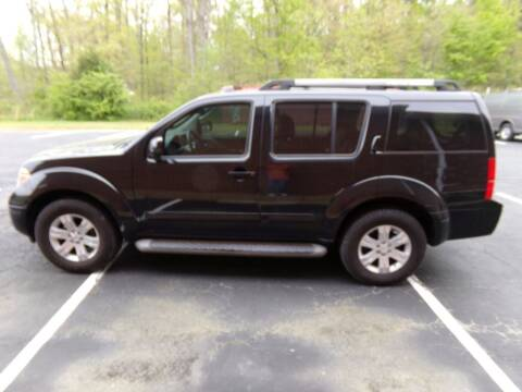2007 Nissan Pathfinder for sale at West End Auto Sales LLC in Richmond VA