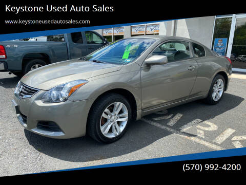 2012 Nissan Altima for sale at Keystone Used Auto Sales in Brodheadsville PA