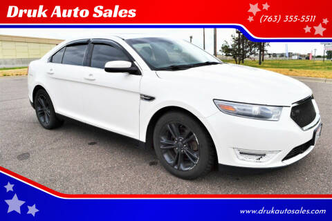 2013 Ford Taurus for sale at Druk Auto Sales in Ramsey MN