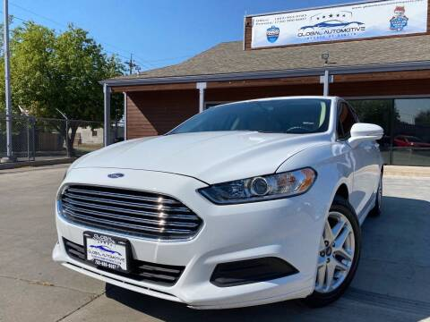 2016 Ford Fusion for sale at Global Automotive Imports of Denver in Denver CO