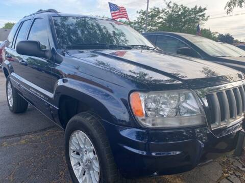 2004 Jeep Grand Cherokee for sale at Zs Auto Sales in Kenosha WI