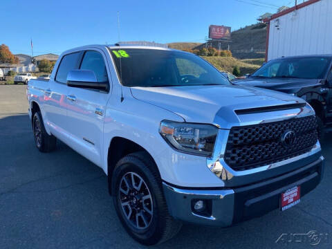 2018 Toyota Tundra for sale at Guy Strohmeiers Auto Center in Lakeport CA