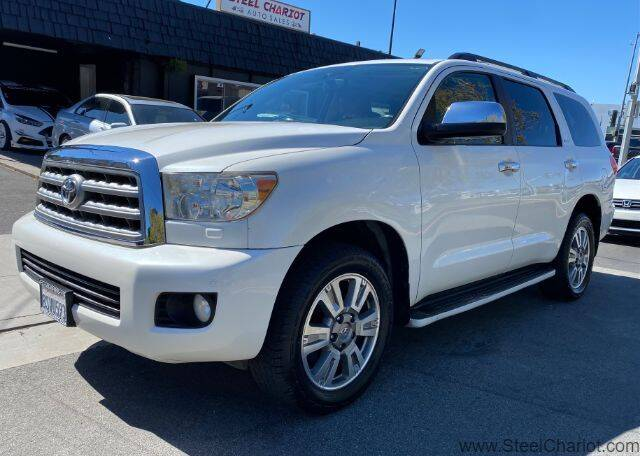 2011 Toyota Sequoia for sale at Steel Chariot in San Jose CA