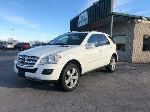 2009 Mercedes-Benz M-Class for sale at B & J Auto Sales in Auburn KY