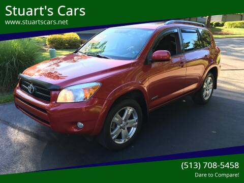 2008 Toyota RAV4 for sale at Stuart's Cars in Cincinnati OH
