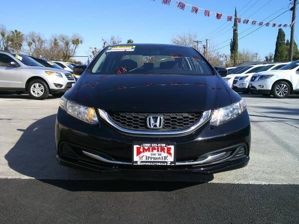 2015 Honda Civic for sale at Empire Auto Sales in Modesto CA