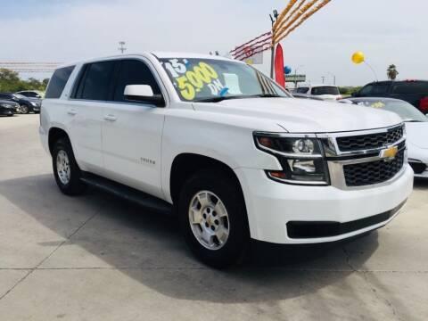 2015 Chevrolet Tahoe for sale at A & V MOTORS in Hidalgo TX