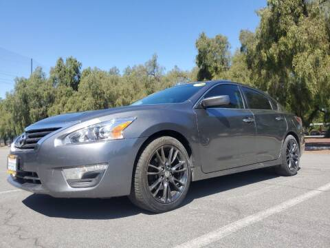2015 Nissan Altima for sale at ALL CREDIT AUTO SALES in San Jose CA