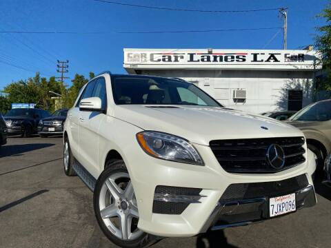 2015 Mercedes-Benz M-Class for sale at Car Lanes LA in Valley Village CA