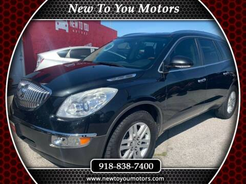 2012 Buick Enclave for sale at New To You Motors in Tulsa OK