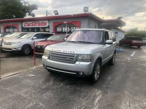2011 Land Rover Range Rover for sale at CARSTRADA in Hollywood FL