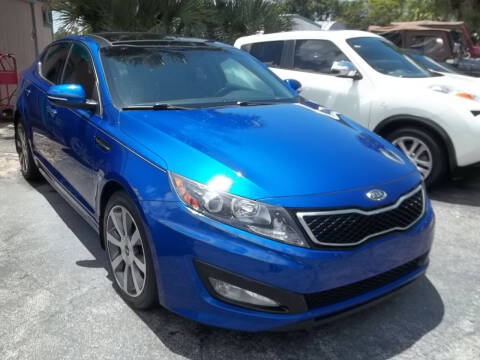 2012 Kia Optima for sale at PJ's Auto World Inc in Clearwater FL