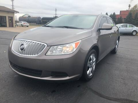 2010 Buick LaCrosse for sale at Mike's Budget Auto Sales in Cadillac MI