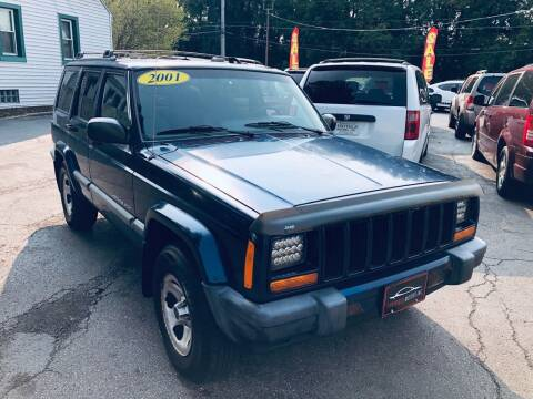 2001 Jeep Cherokee for sale at SHEFFIELD MOTORS INC in Kenosha WI
